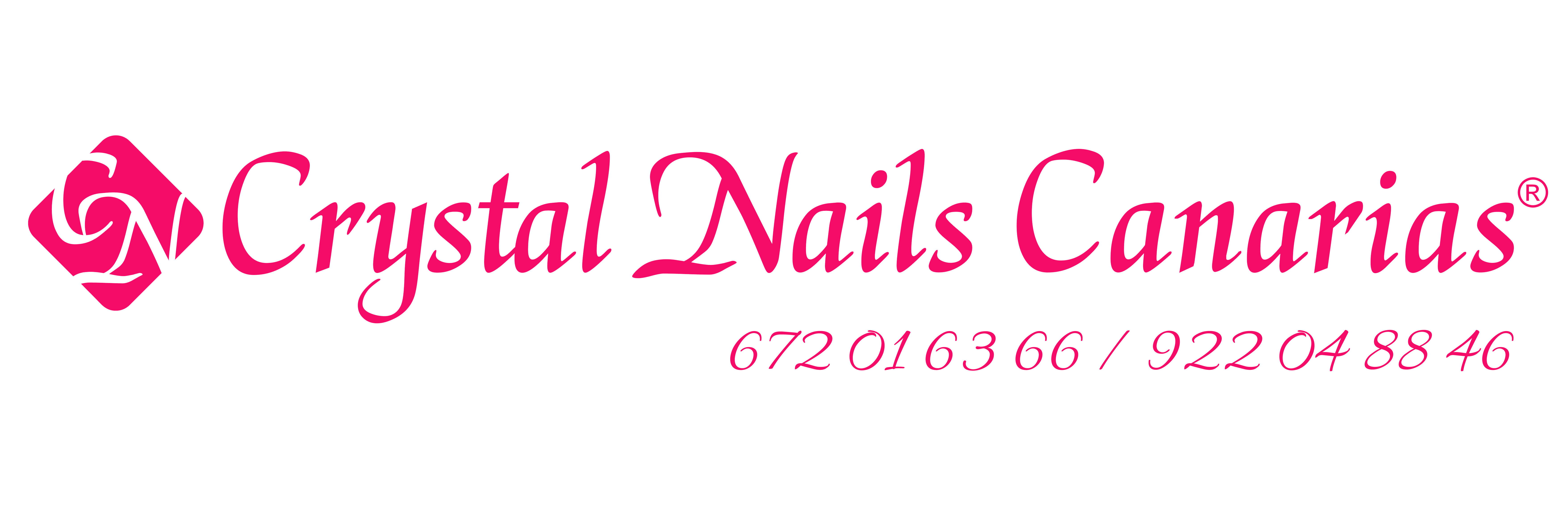Crystal nails Canarias Logo